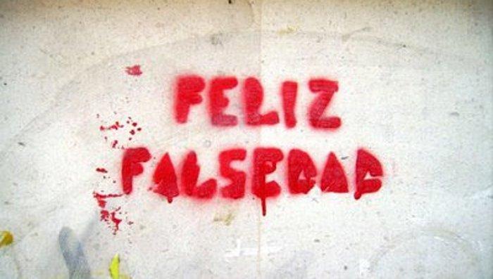 Feliz falsedad !!!